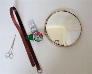 Miroir Rond Cuir : miroir rond cuir ~ Teatrodelosmanantiales.com Idées de Décoration