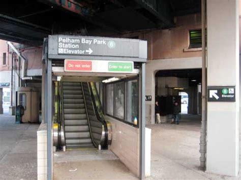 pelham bay park station   upgrades bird droppings