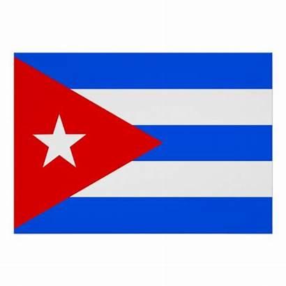 Flag Cuba Poster Posters Zazzle