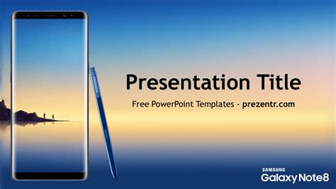 samsung galaxy note  powerpoint template prezentr