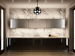 marble kitchen wall interior design ideas With kitchen colors with white cabinets with new york city wall art ikea