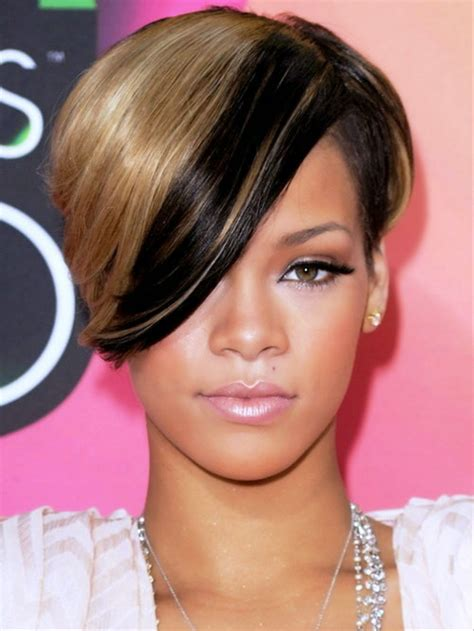 Rihanna Hairstyles by Rihanna S Gorgeous Hairstyles The Haircut Web