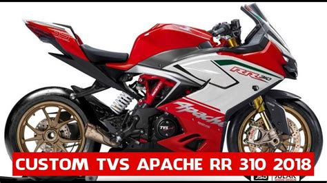 Tvs Apache Rr 310 2019 by Details Tvs Apache Rr 310 2018 Custom Tvs Apache Rr 310