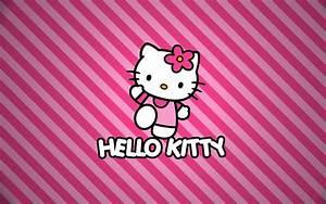 Hello Kitty Wallpaper Pink wallpaper - 217942