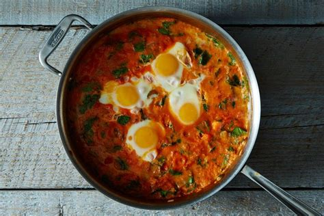 Shakshuka With Grains And Feta Recipe On Food52