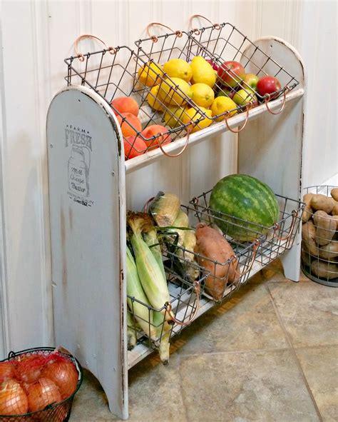 kitchen fruit storage 20 creative diy storage ideas mostly repurposed or upcycled 1745