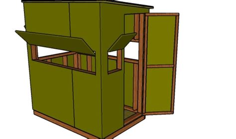 shooting house plans howtospecialist   build