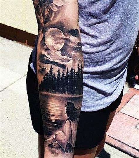 inspirierende wald tattoo ideen tattoo motive