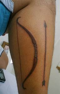 Bow And Arrow Tattoos For Men