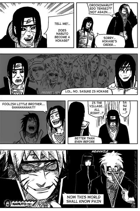 In an alternate Naruto universe.. : Naruto