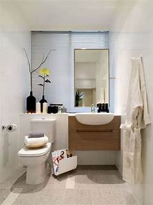 petite salle de bain 30 idees damenagement With idee rangement petite salle de bain