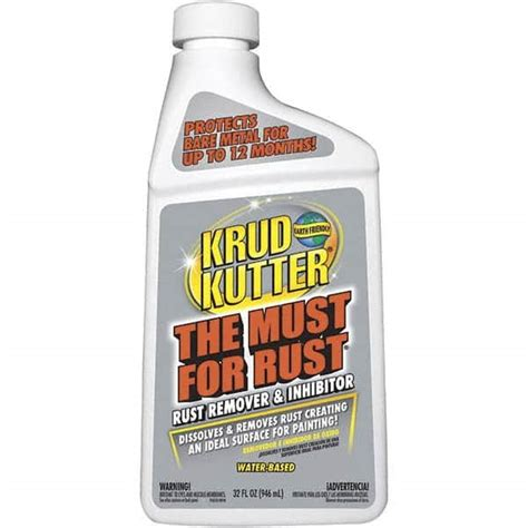 rust remover krud kutter lowes spray inhibitor oz industrial bottle fl removers removes