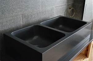 Evier Cuisine Granit : evier cuisine noir ~ Premium-room.com Idées de Décoration