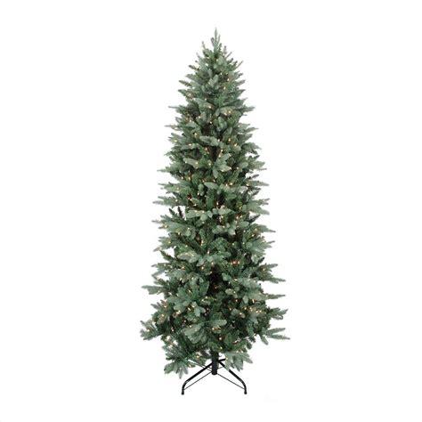 11ft pre lit artificial christmas 9 ft pre lit washington frasier fir slim artificial tree clear lights
