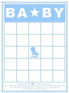 29 Sets Of Free Baby Shower Bingo Cards