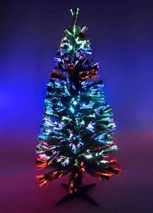 Weihnachtsbaum Led Außen : k nstlicher weihnachtsbaum 150cm led glasfaser 5 farben ~ Markanthonyermac.com Haus und Dekorationen