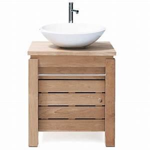 Meuble Sdb Pas Cher : meuble de salle de bain 1 porte origin ~ Teatrodelosmanantiales.com Idées de Décoration