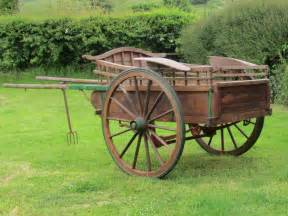 Antiques Atlas - Wooden Horse Drawn Delivery Cart