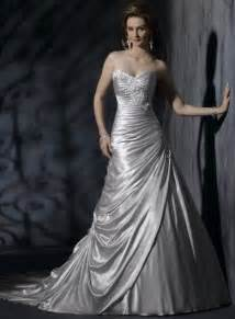 silver wedding silver wedding gown embellished lace wedding dresses corset wedding dresses prlog