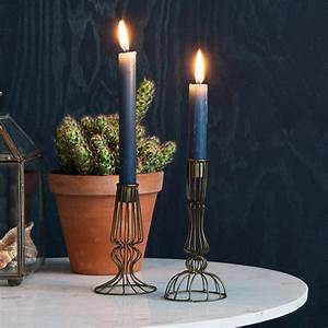 Wire, Candle, Holder, In, Copper, By, Out, There, Interiors