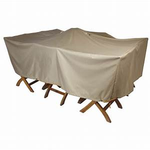 Housse Pour Table De Jardin : housse de protection standard cov up pour table de jardin ~ Teatrodelosmanantiales.com Idées de Décoration