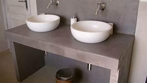 Plan Vasque Bois : quel plan de travail choisir pour la salle de bains ~ Teatrodelosmanantiales.com Idées de Décoration