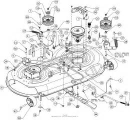 troy bilt xp 13yx79kt011 2016 parts diagram for deck