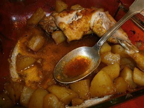 poulet marinade pommes de terre au four l atelier de