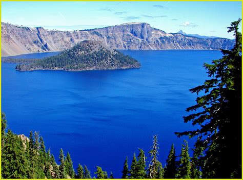 island and north rim crater lake np 8 13 1 in a