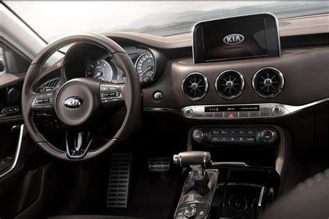 What Is The Most Expensive Kia by 2017 Kia Stinger Gt The Most Luxurious Most