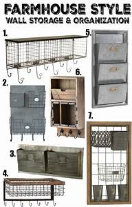 farmhouse style wall storage organization little With 3 tier letter file bin