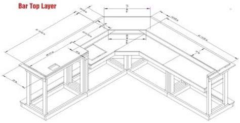 Home Bar Measurements by Easy Home Bar Plans Printable Pdf Home Bar Designs
