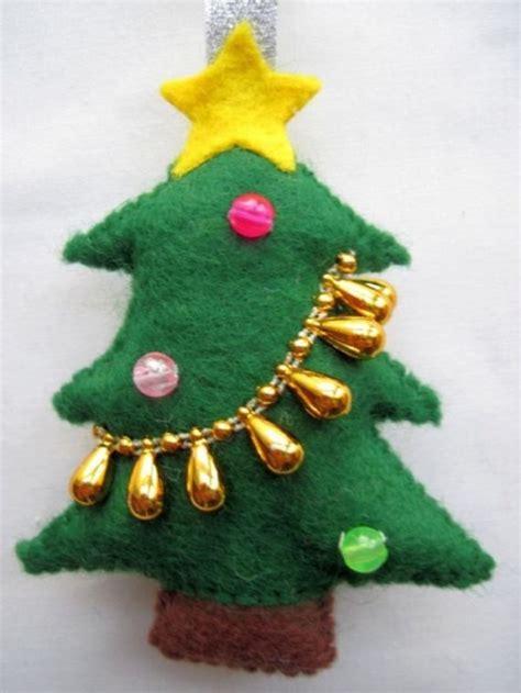 adorable felt original ornaments   christmas tree