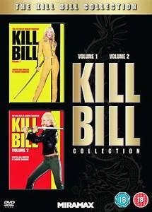 Kill Bill  Volume 1 And 2 Dvd