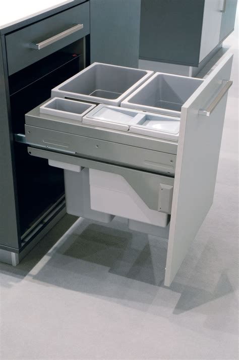 modern kitchen trash  ideas  good waste management
