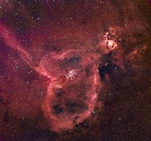 The Heart Nebula: IC 1805 and NGC 896