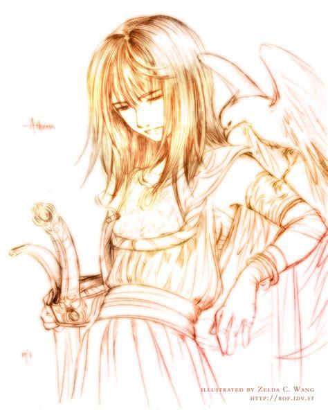 Moonless God Anime Mobile Myth Athena By Zeldacw On Deviantart