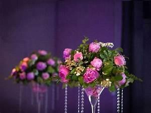 Centre De Table Mariage : fleurs mariage coupe martini centre de table cr ation ~ Melissatoandfro.com Idées de Décoration
