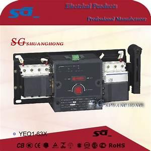 Yeq1 Changeover Switch Mcb Ats Socomec Manual Changeover