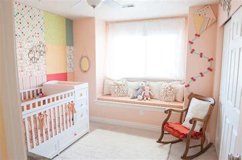 chambre bébé orange deco chambre bebe fille orange