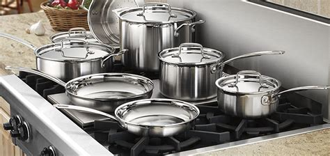 cookware glass electric stove cuisinart mcp multiclad 12n stainless steel piece