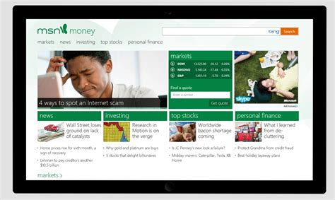Msn Gets Major Refresh With Windows 8