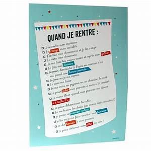 Regle De La Maison A Imprimer : regle de vie a la maison a imprimer ventana blog ~ Dode.kayakingforconservation.com Idées de Décoration