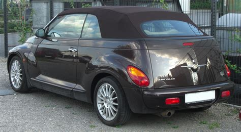 chrysler pt cruiser cabrio chrysler pt cruiser cabrio technical details history photos on better parts ltd
