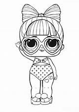 Coloring Puppy Unicorn Lol Confetti Spf Dolls Ninjago Printable Freude Kinder Artikel Paper sketch template