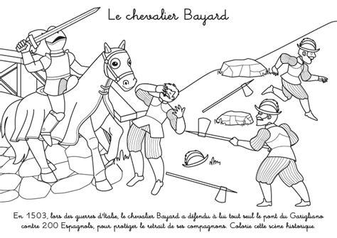 Bordeaux Kleurplaat by Coloriage 224 Imprimer Le Chevalier Bayard