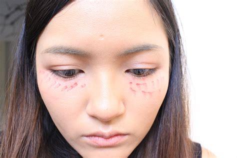 makeup undereye blush tokyos trend  octobers cat