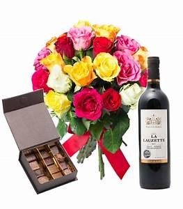Livraison Fleurs à Domicile : livraison fleurs chocolats et vin domicile fleurs et ~ Dailycaller-alerts.com Idées de Décoration