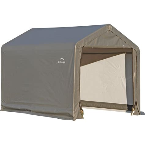 shelter logic shed shelterlogic shed in a box 6ft l x 6ft w x 6ft h model