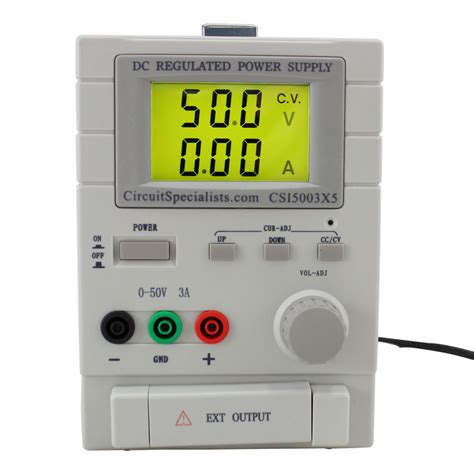 Vdc Dual Output Bench Power Supply